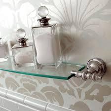 imperial avignon wall mounted glass shelf 75cm