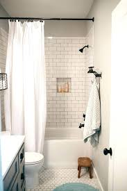 shower curtain over sliding glass doors bathroom best subway tile bathroom wall with white tile and