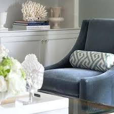 blue velvet accent chair. Blue Velvet Accent Chair Magnificent Royal Navy T