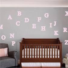 d61 chevron nursery alphabet wall