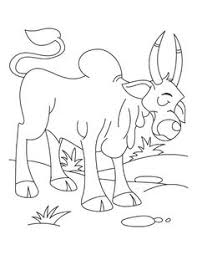 Small Picture The lone arabian camel standing in the sahara desert coloring page