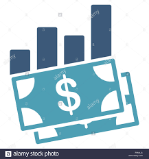Sales Chart Icon Sales Bar Chart Icon Stock Photo 96982884 Alamy