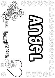 Small Picture Angel coloring pages Hellokidscom