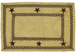 hsd texas brown rectangle braided jute rug lrg