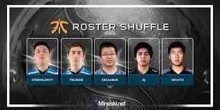 dota 2 roster shuffle tracker mineski net