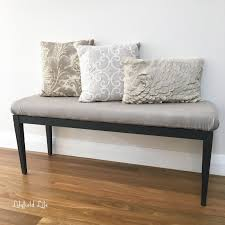 lilyfield life upholstered bench seat and my daughter's cushion