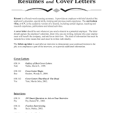 Cover Letter Meaning Cv Resume Ideas