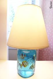 Diy Lamp Diy Lamp Mason Jar Aquarium Lamp Tutorial Darice