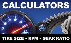 Tire Size Rpm Chart Gear Ratio Tire Chart Tire Size Gear Ratio