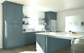 grey shaker kitchen cabinets rustic gray