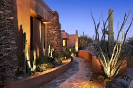 southwest gardens landscape southwestern with pavers southwestern outdoor wall lights and sconces