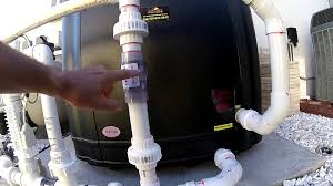 How To Install A Heat Pump Aquacal Heat Pump Salt Chlorine Generator Install Youtube