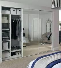 sliding mirror closet doors. Sliding Mirror Closet Doors Wardrobe Door White  Edge