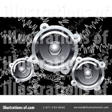 music speakers clipart. royalty-free (rf) music speakers clipart illustration #1066064 by vector tradition sm