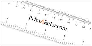 How To Print A Ruler Printaruler Com