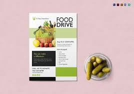 Food Drive Flyers Templates 25 Food Drive Flyer Designs Psd Vector Eps Jpg Download