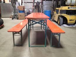 garden dining table with benches. beer garden folding table set from germany 2 dining with benches