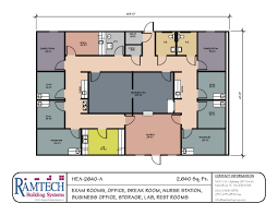 office floor plan template. Gorgeous Design Ideas Medical Clinic Floor Plan Sample 12 Modular Building Plans Healthcare Clinics Offices Office Template