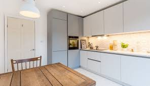 cupboards wonderful cabinet cabinets kitchen unit white cabinetry matt units handleless doors curved grey cupboard