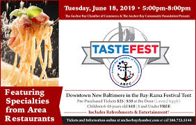 Samples Of Tickets For Events Anchor Bay Chamber Of Commerce 2019 Abcc Abcf Tastefest