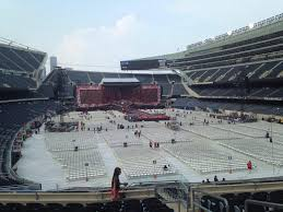 One Direction Soldier Field Seating Chart Soldier Field Section 225 Row 9 Seat 14 One Direction Tour