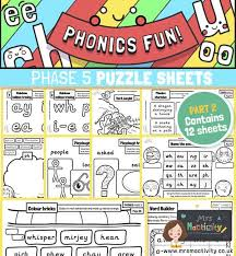 Choose the word that has a particular sound. Phase 5 Phonics Activity Pack Mrs Mactivity