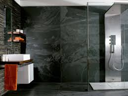 Slate Wall Tiles Kitchen Porcelanosas Black Slate Wall Tiles For Stylish Bathroom Wall