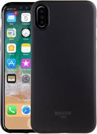 <b>Клип</b>-<b>кейс Uniq Apple</b> iPhone X тонкий пластик Black - цена на ...