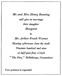 a desk book on the etiquette of social stationery chapter 6 Wedding Invitation Quotes For Brother Marriage a desk book on the etiquette of social stationery invitation55 png with the home wedding invitation wedding invitation wording for brother's marriage