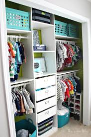 ... Baby boy nursery closet - DIY nursery decor - navy green gray - This is  our
