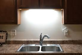 over kitchen sink lighting. Kitchen Sink Lighting Under Cabinet Led Fixture W Rocker Switch Shown Installed Over