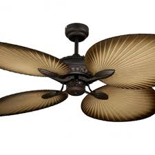 leaf ceiling fan. Oasis Palm Leaf Ceiling Fan G