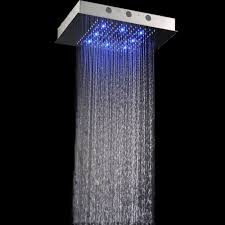 5 Way Led Electric Shower Recessed Ceiling Rain Shower Head Recessed Ceiling Rain Shower Head
