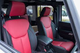 katzkin custom leather interiors for jeep wrangler jk and other vehicles