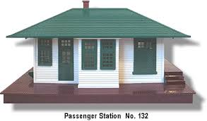 lionel trains 132 passenger station accessory lionel trains passenger station no