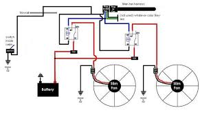 dual electric fan relay wiring diagram images fan wiring diagram ladsmcom view topic slim fan wiring diagram