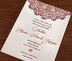 best 25 indian wedding invitation wording ideas on pinterest Wedding Invitation Header Quotes malika letterpress wedding invitation by invitations by ajalon Banner Wedding Invitation