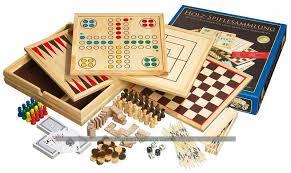 Wooden Games Compendium Philos Wooden Game Compendium 100cm 100 games 2
