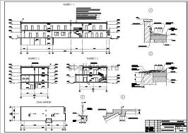 Дипломный проект ПГС административное здание местного самоуправления 4 разрезы