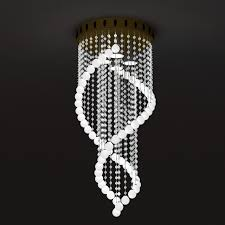 3d model of beaded crystal chandelier light fixture available 3d file format max autodesk 3ds max free this 3d objects and put it into your