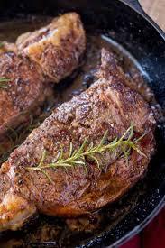 perfect easy ribeye steak dinner
