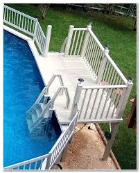 premade deck stairs steps above ground pool deck ladder steps steps for mobile home steps premade handrails for deck stairs