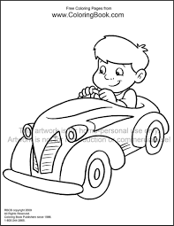 Coloring Pages For Kids Cars At Getdrawingscom Free For Personal
