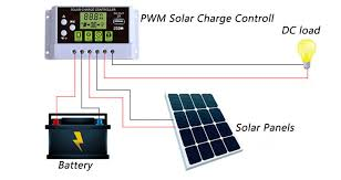 20 amp 12 24v pwm solar charge 30 Volt Solar Wiring Diagram Solar Panel Wiring Guide