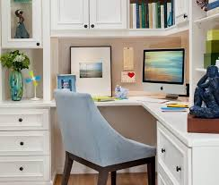 Office corner Woman Space Saving Ideas And Furniture Placement For Small Home Office Design Lushome 30 Corner Office Designs And Space Saving Furniture Placement Ideas