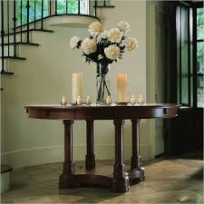 round entryway table ideas