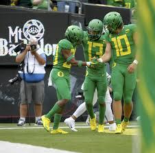 Oregon's Justin Herbert, Dillon Mitchell face biggest test yet against  Washington secondary - oregonlive.com