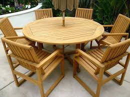 round wood outdoor table. Delighful Wood Wood Patio Clearance Ideas Round Outdoor Table Plans Teak Images Large  Extra Chair Covers Furniture Im In