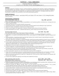 resume for investment banking