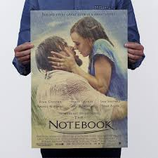 large vintage paper retro poster the notebook nostalgic retro  large vintage paper retro poster the notebook nostalgic retro movie posters size 51 x35cm home art room decoration in painting calligraphy from home